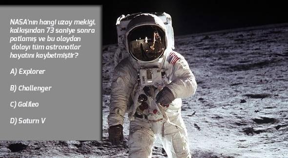NASA'da Astronot Olmak İsteyenlere Sorulan 10 Soru