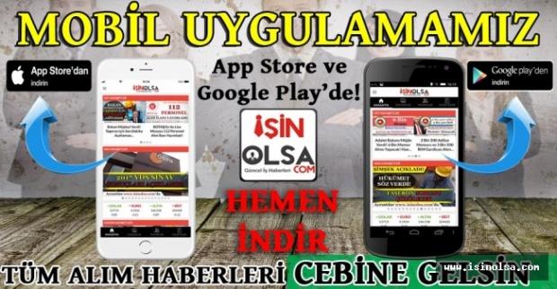 isinolsa.com mobil uygulamaları da ücretsiz olarak kullanıma sunulmuş, şuan itibariyle 100+ bin kişi tarafından indirilerek, aktif kullanılır durumdadır.
