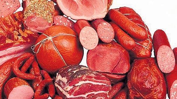 İşletmiş etler  Zararlı olan içerik:  aşırı tuz ve nitrat