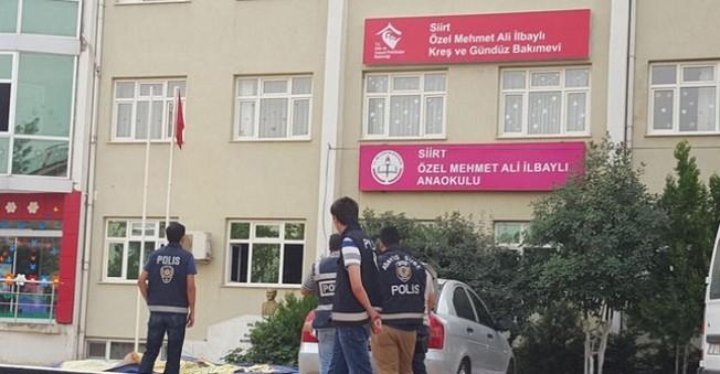 SİİRT'te, Gülen Cemaati'ne yakınlığı ile bilinen iki özel okula baskın