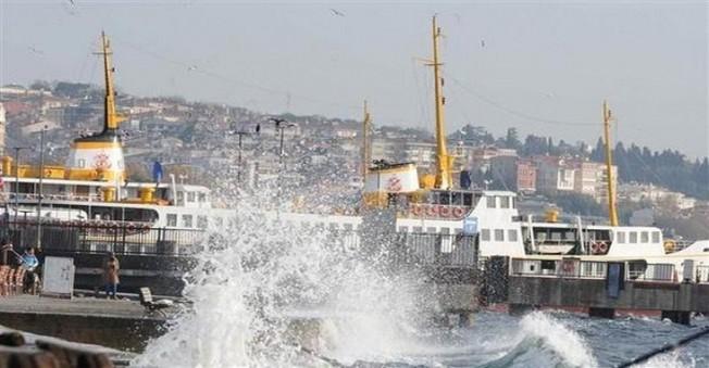Fırtına ve Lodos Marmara'yı Yıktı