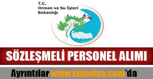Türkiye Su Enstitüsü Sözleşmeli Personel Alımı