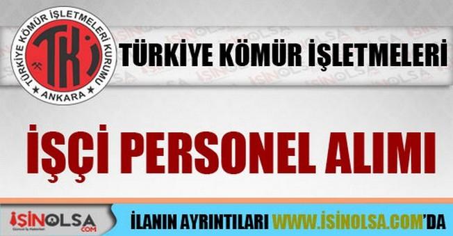Türkiye Kömür İşletmeleri Kurumu İşçi Personel Alımı