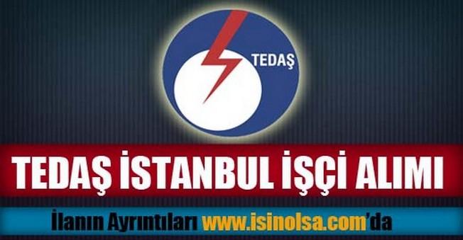 TEDAŞ İstanbul İşçi Alımı