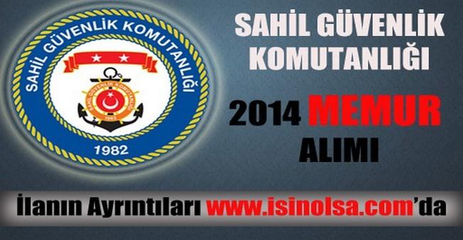 Sahil Güvenlik Komutanlığı Memur Alımı 2014