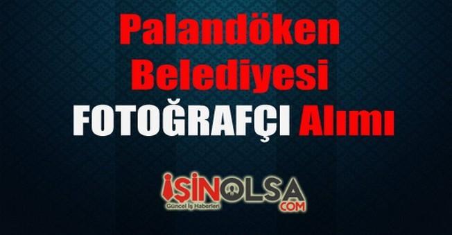 Palandöken Belediyesi Fotoğrafçı Alımı