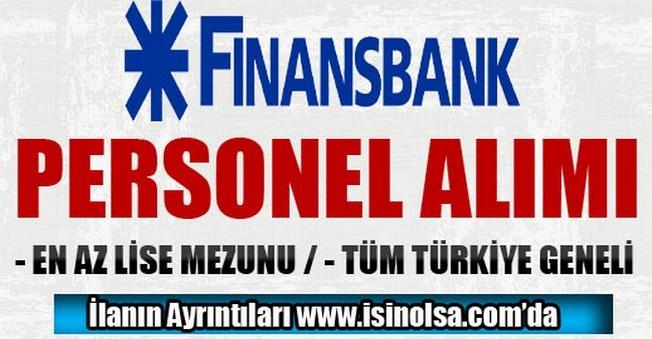 Finansbank Türkiye Geneli Satış Temsilcisi Alımı 2015