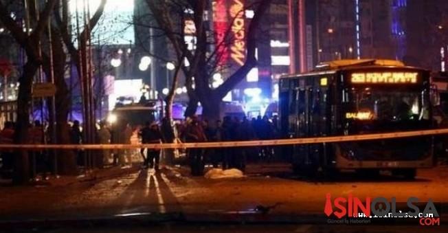 Ankara'daki Bombalı Saldırı Olayında 5 Kişi Tutuklandı!