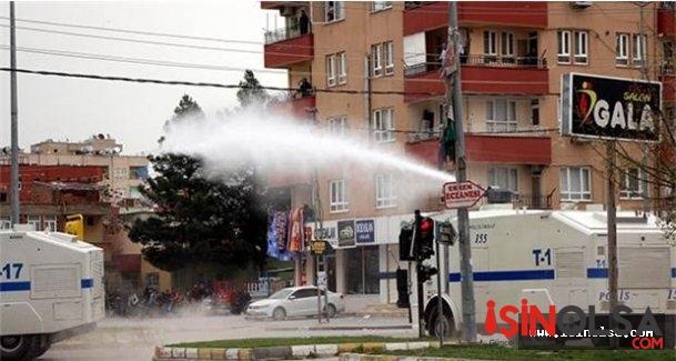 Batman'da Yasaklanan Nevruz İçin HDP'liler Polisle Arbede Yaşadı'