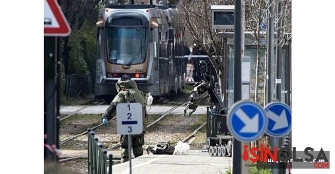Belçika'da Çantası Bomba Dolu Şüpheli Vurularak Yakalandı!