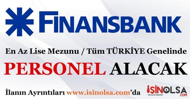 Finansbank Personel Eleman Alımları İş İlanı