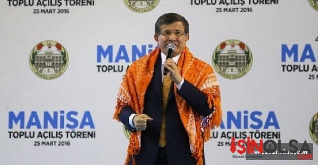 Manisa'da  Davutoğlu  26 tesisi hizmete açtı