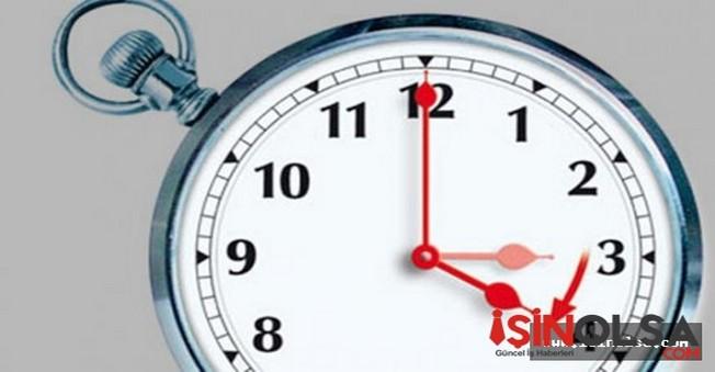 Yaz Saati uygulaması bugün yapılacak?