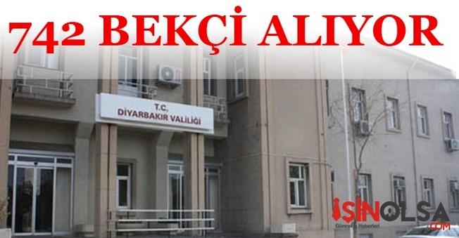 Diyarbakır Valiliği 742 Bekçi Alacak
