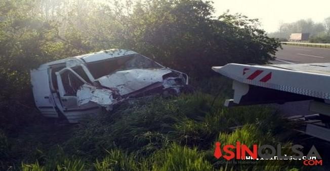 Düzce'de Feci Kaza! 2 ölü, 1 yaralı