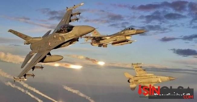 Kandile 8 uçakla saldırı yapıldı