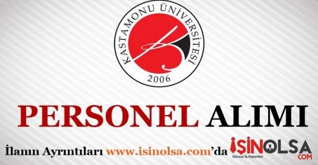 Kastamonu Üniversitesi Personel Alımı 2016