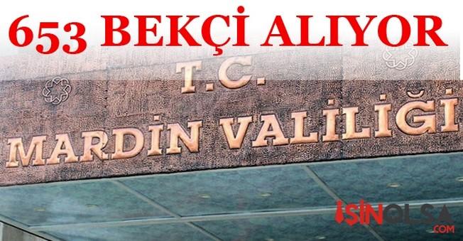 Mardin Valiliği 653 Bekçi Alacak