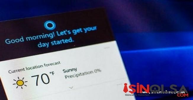 Microsoft Cortana ile bomba gibi geliyor