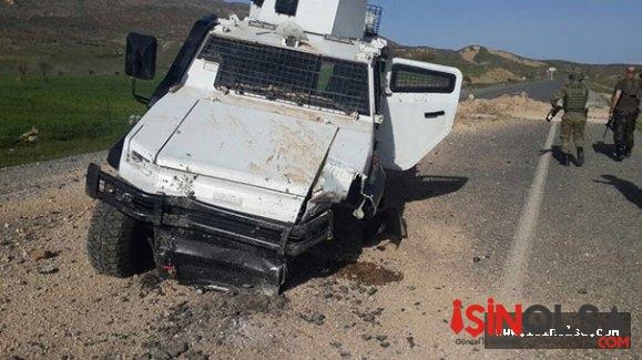 PKK militanları Lice'de polis aracına saldırdı