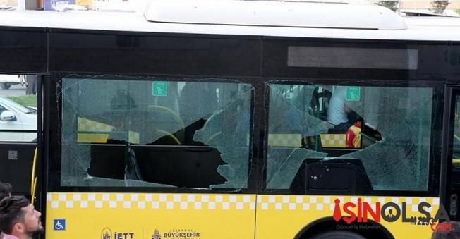 Polis Otobüsüne Saldırı