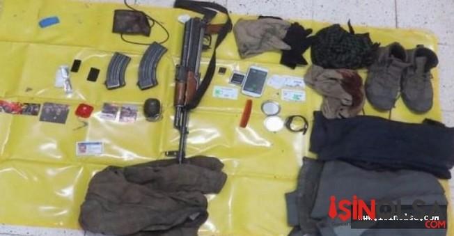 Tunceli'de 1 DHKP-C'li öldürüldü.