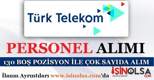 Türk Telekom Personel Eleman Alımı 2016