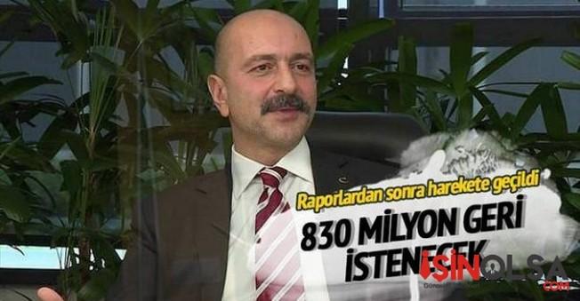 Tutuklanan Cafer Tekin İpek ile Akın İpek için  830 milyonluk dava