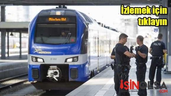 Almanya'da Tren Garında Bıçaklı Saldırı