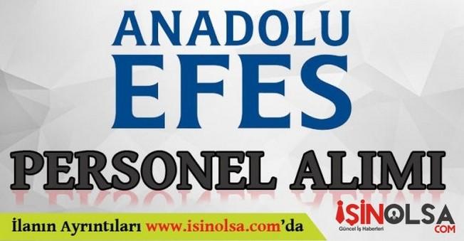 Anadolu Efes Personel Eleman Alımı