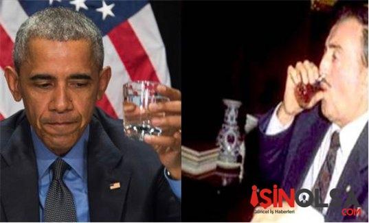 Barack Obama Kurşunlu Suyu İçti