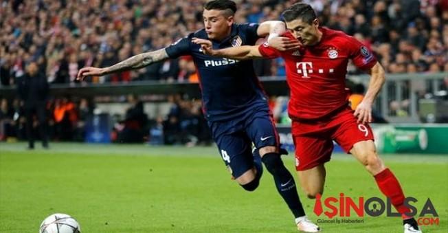 Bayern Münih Atletico Madrid'e Elenerek Veda Etti