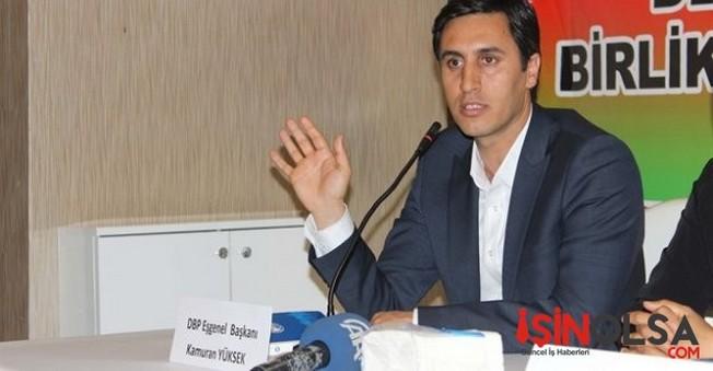 DBP Eş Genel Başkanı Kamuran Yüksek'i gözaltına aldı