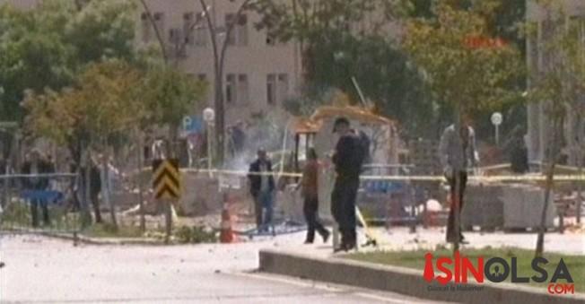 Gaziantep Emniyeti Önünde  Bombalı Araçla Saldırı
