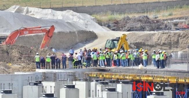 Hastane inşaatındaki işçilerin mucize kurtuluşu