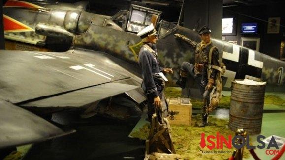 Hitler'in efsane savaş uçağı Messerschmitt İstanbul'da