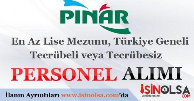 Pınar Süt Personel Alımı İş İlanları