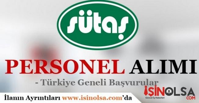Sütaş Türkiye Geneli Personel Alımı