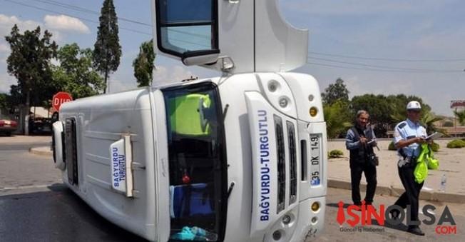 Turgutlu'da Feci Kaza! 4 Yaralı