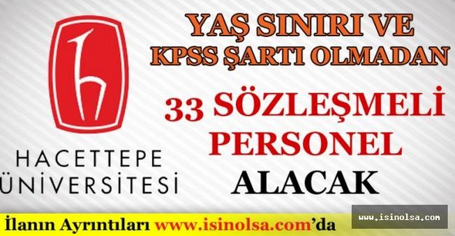 Hacettepe Üniversitesi Sözleşmeli Personel Alımı