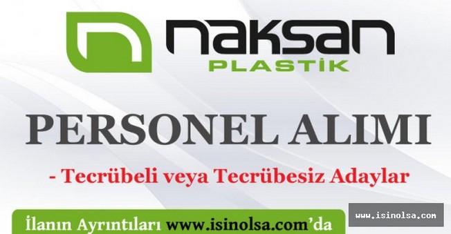 Naksan Plastik İş İlanları Personel Alımı