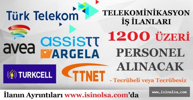 Telekomünikasyon İş İlanları
