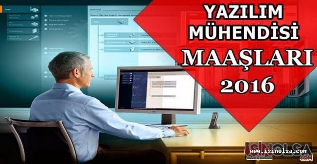 Yazılım mühendisi maaşları 2016
