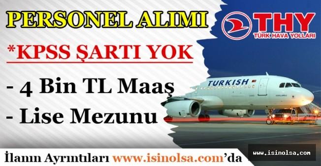 Türk Hava Yolları Personel Alımı Yapacak 2016 Başvuru Şartları