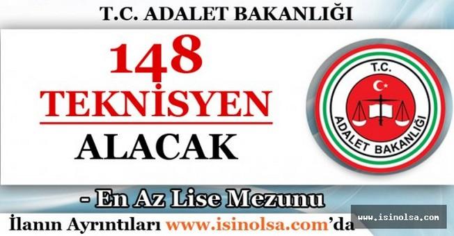 Adalet Bakanlığı 148 Teknisyen Alacak