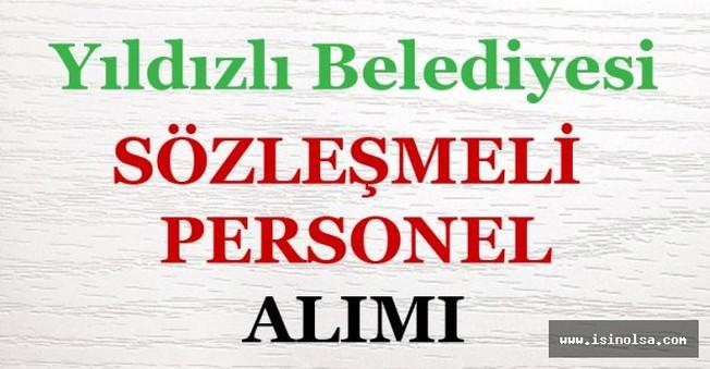 Sivas Yıldızlı Belediyesi Sözleşmeli Personel Alımı
