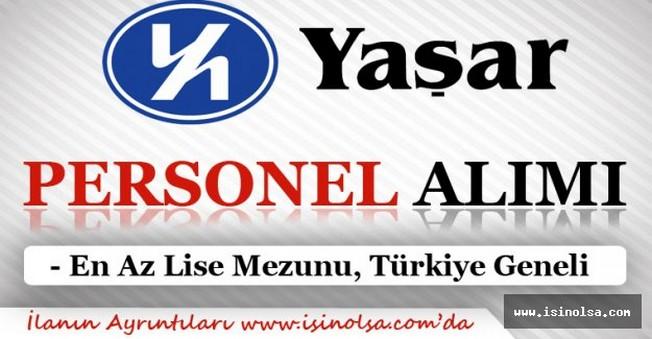 Yaşar Holding Türkiye Geneli Personel Alımı