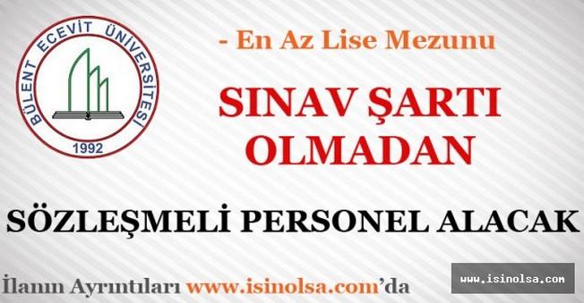 Bülent Ecevit Üniversitesi Sözleşmeli Personel Alımı