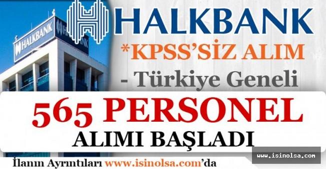 Halkbank KPSS'siz Memur Personel Alımı 2016