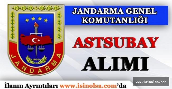 Jandarma Genel Komutanlığı Astsubay Alımı